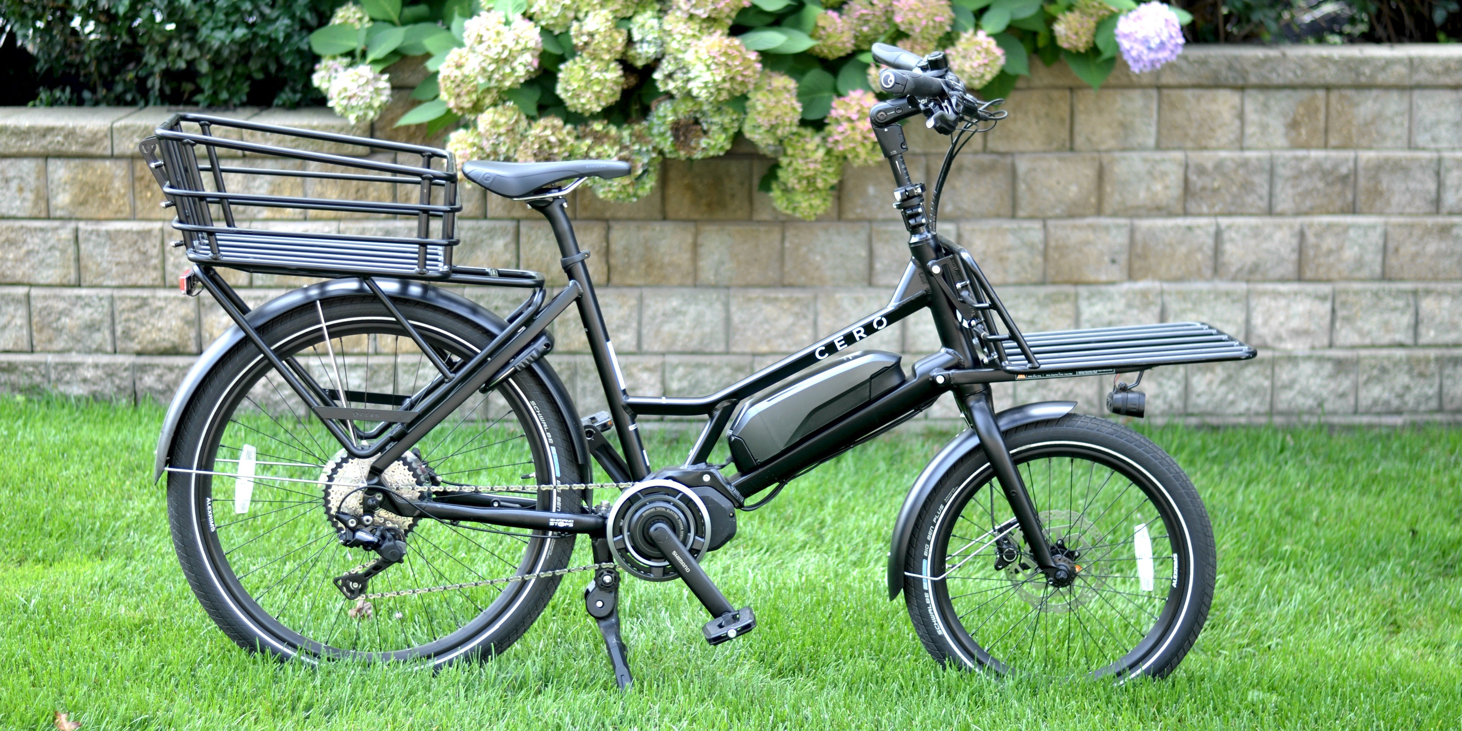 cero one cargo electric bike header2
