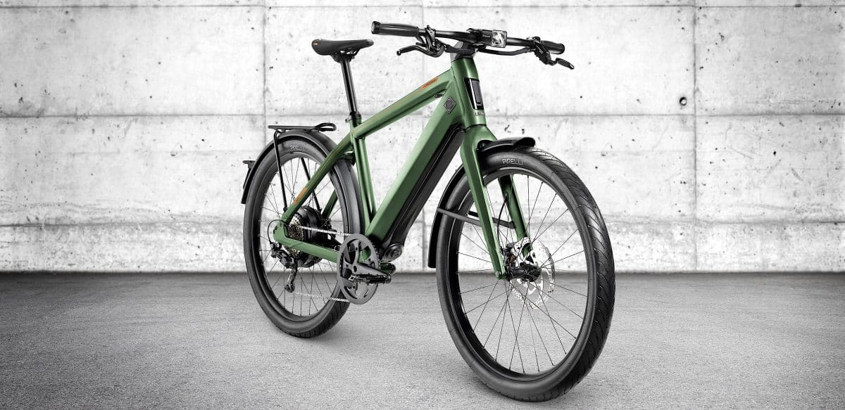 Work Commute 90 Miles The Stromer St3 Electric Commuter